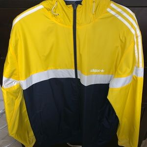 Adidas double sided windbreaker